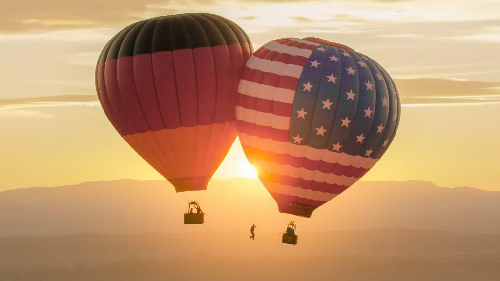 Balloon Highline Germany USA BuildingBridges
