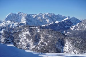 Wilder Kaiser in winter