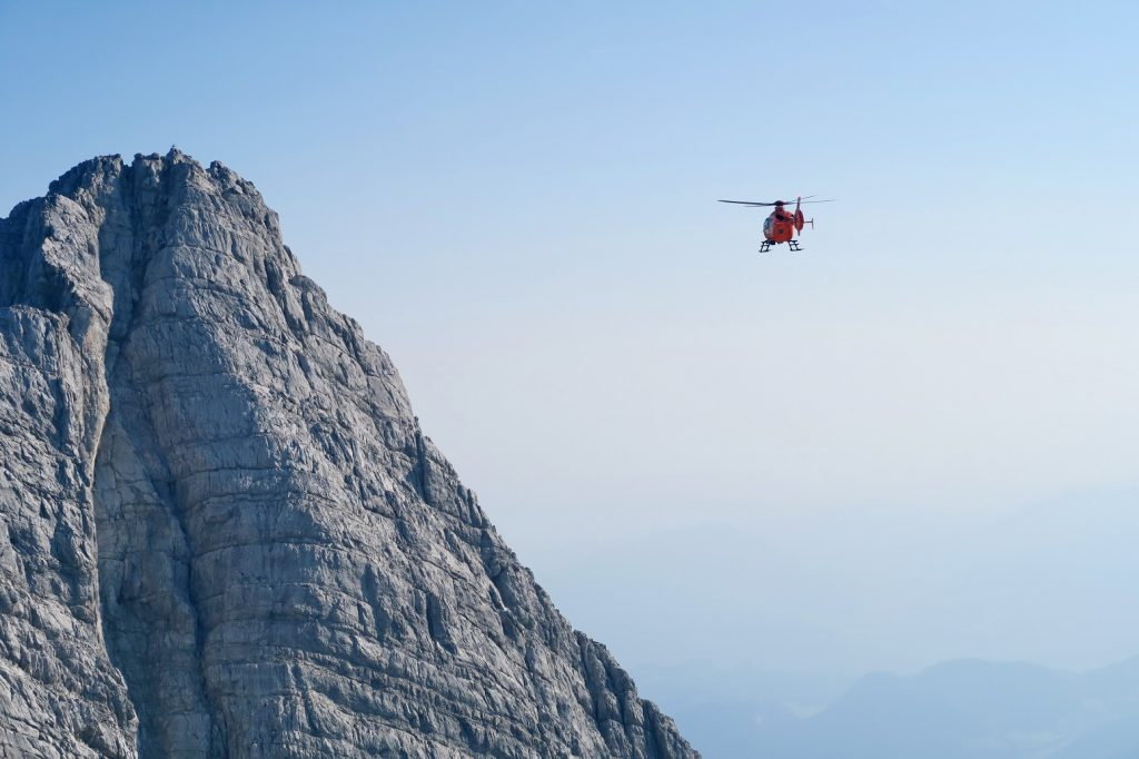 Watzmann wingsuit BASE Jump