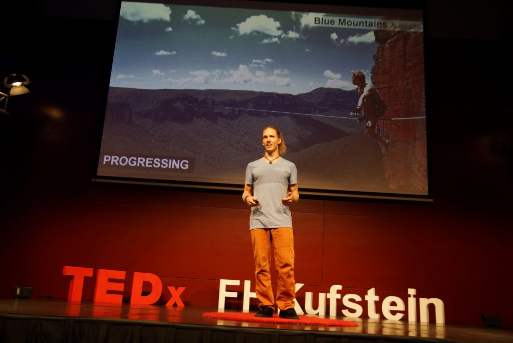 TED Talk highlining