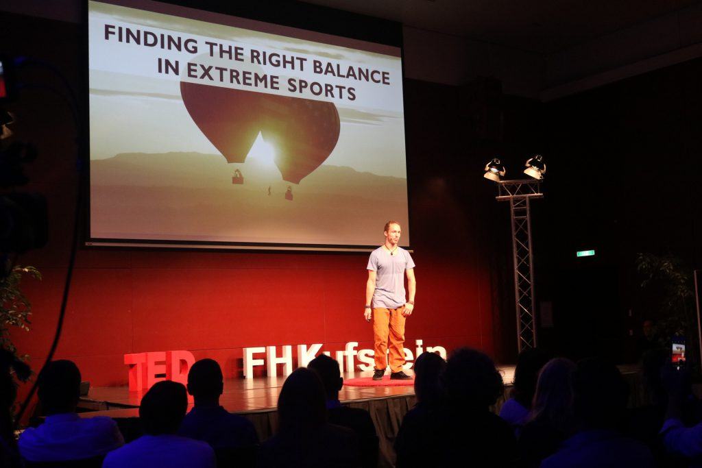 TED Talk extreme sports