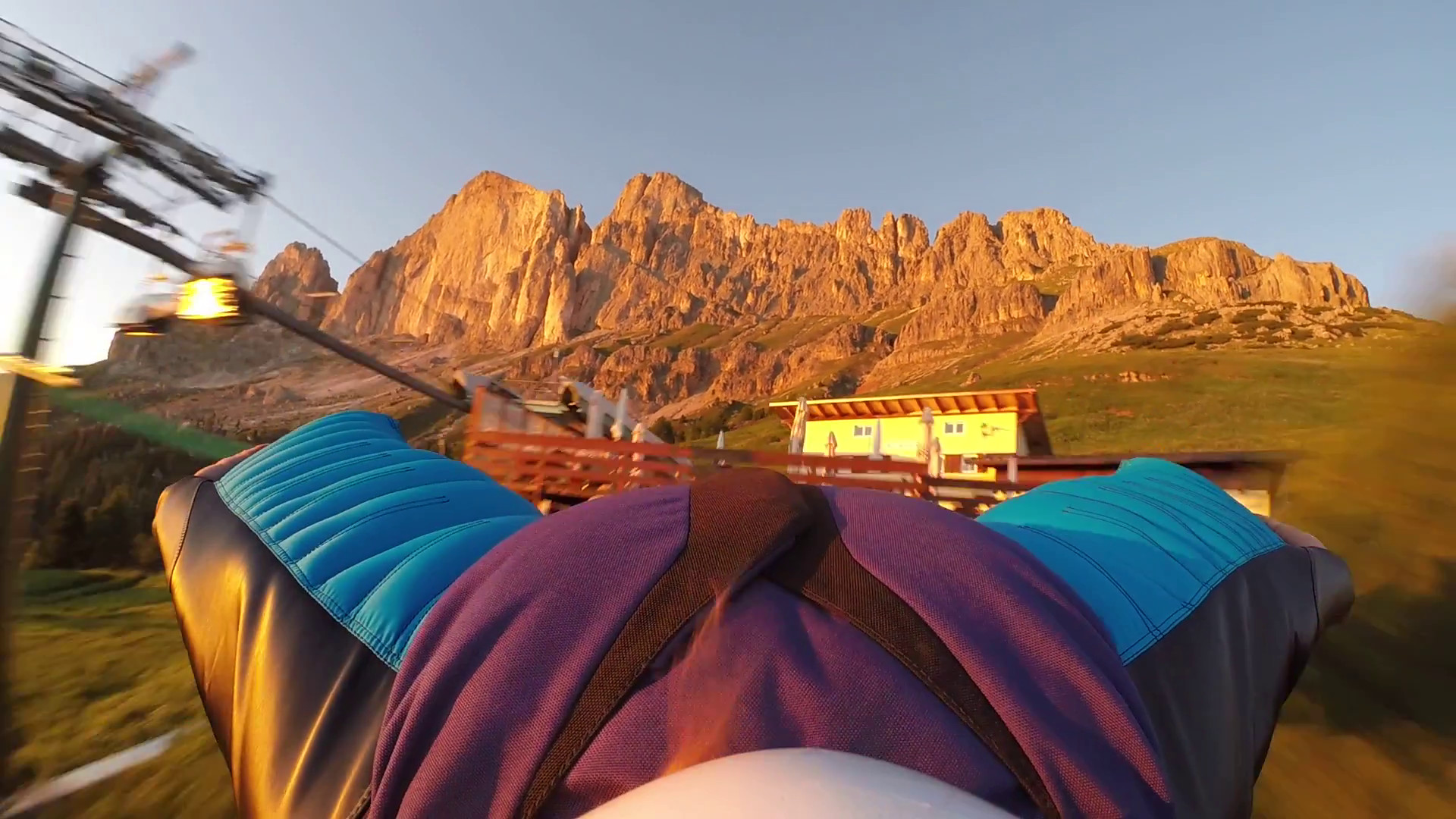 Wingsuiting the Dolomites