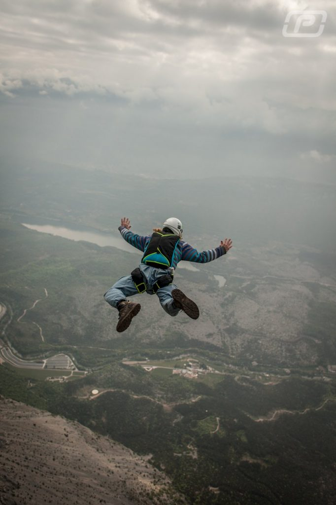 My 9th BASE jump
