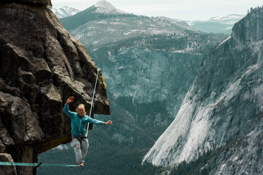 Highline over Yosemite Falls